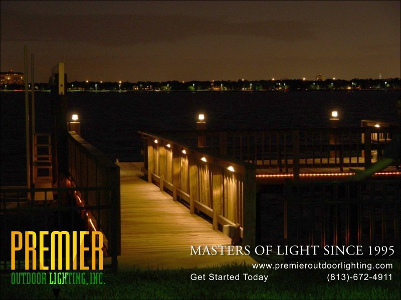 Dock Lighting Photo Gallery Image 3 - Premier Outdoor Lighting