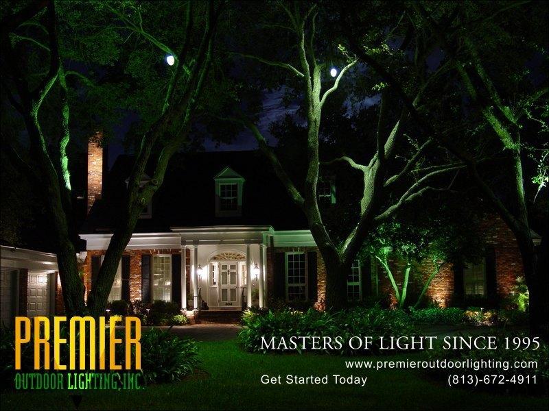 Tree lighting photo gallery image 10 premier outdoor for Outdoor lighting companies